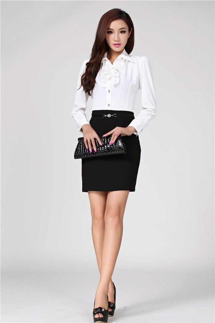 2017 Spring New Fashion Formal Women Skirts For Las Career Ol Skinny Penicl Mini Black Free Shippingusd 19 90 Piece