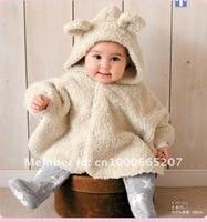 бесплатная доставка ребенка шаль плащ с обеих сторон, чтобы носить