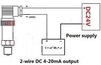 0-0.6 МПа 0-6 бар давления, источник питания постоянного тока 24 в, 4-20ма, диаметр резьбы 20 мм, бесплатная доставка