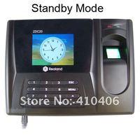 """2.8 """" дисплей биометрические фингерпринта отпечатков пальцев регистратор Вт / время часы"""