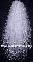 в наличии новый 3 слоя белый / Sons Co wade платье невесты тиара Бен Уэйд толстый шарф / plato с РС