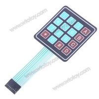16 ключ мембранный переключатель, клавиатура общего пользования