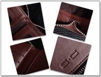 СК бесплатная доставка + кожа мужская бумажник со всеми вокруг молния стиль ly0006-2