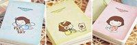 новый творческий печенья девушка мини дневник ноутбук/блокнот памятка/мода/оптовая