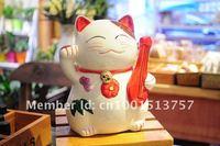 минимальный заказ $20 керамическая повезло кошка монета заставка кошка манэки-нэко свадебный подарок