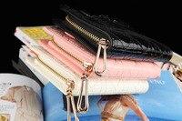 корейская версия новой ирака бай фэн с бантом женщин классический ватные кожаный бумажник кожаный бумажник