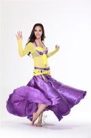 бесплатная доставка * новый стиль # qc2069 производительность танец живота костюм 3 шт., 5 цвета, s / М / Л