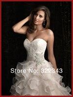 дешевые большой размер новые высокое качество простой милая уровням с bore Seal - watering свадьба ну платья