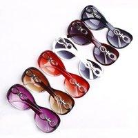 106 красочные солнцезащитные очки для женщины Sole в очки женщины ретро очки 100% пожарные