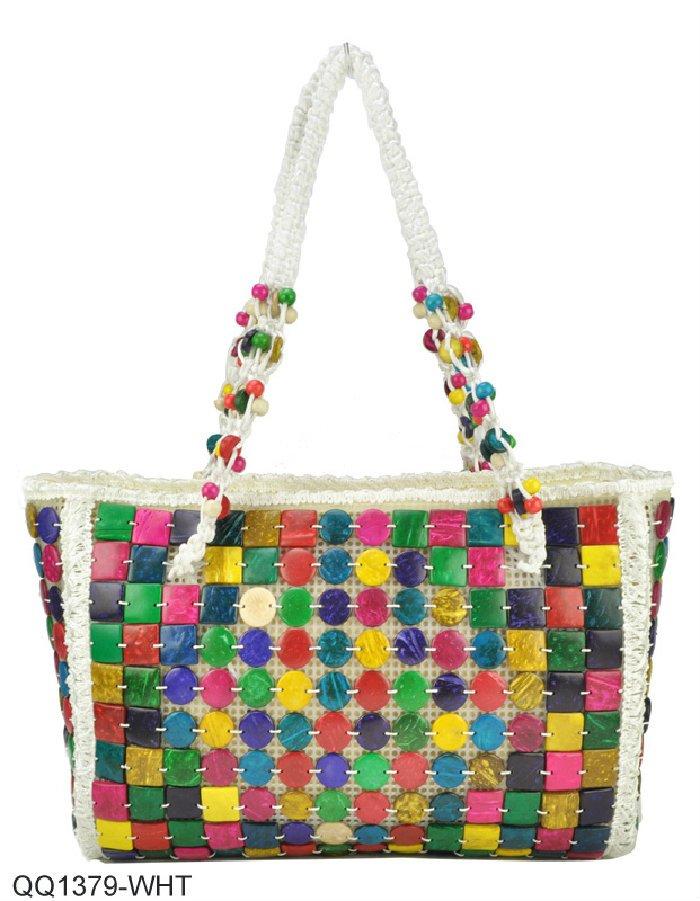 Free Shipping Whole Manual Coconut Shell Bags 2017 Women Fashion Handbags Las Bag Colourful Handbag
