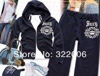 бесплатная доставка мода женская одежда спортивный костюм для дамы, с длинным рукавом hoddies кардиган кожаная куртка