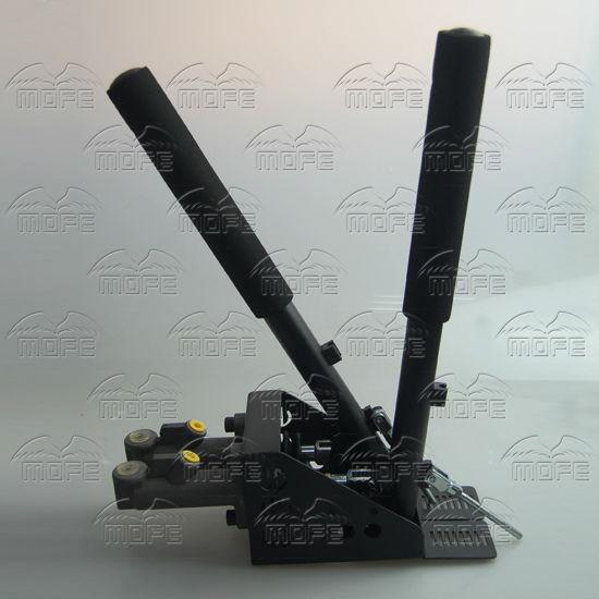 0.75 inch Dual Twin Double Master Cylinders Handles Lockable Vertical Drift Rally Handbrake Hand Brake Hydraulic E-brake DSC_0836