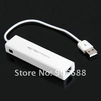 50 компл./лот портов USB 2.0 3 разъём концентратор сети локальных сетей RJ45 разъем сетевой адаптер карты