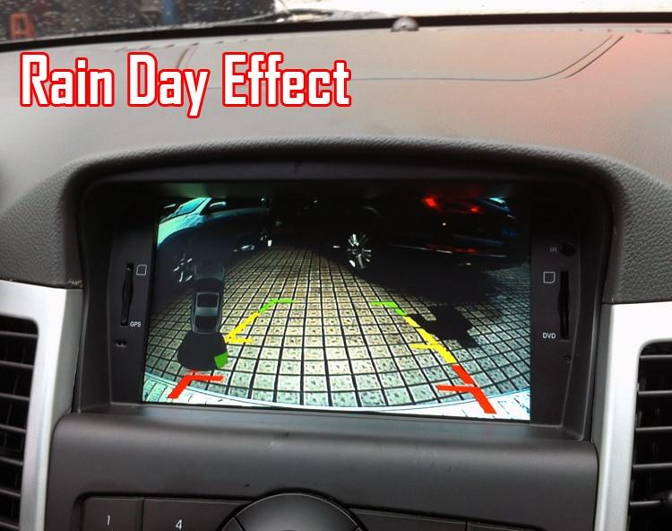 Ccd câmera traseira do carro para opel