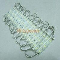 100х супер яркость 5050 белый из светодиодов модуль 3 светодиоды СМД лёгкие водонепроницаемый 12 В DC