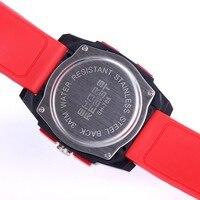 прямая поставка уникальный дизайн силиконовые цифровые часы спортивные многофункциональный сигнализации часов с 3atm подсолнечное аналоговый компас головка для мужчин и для женщин