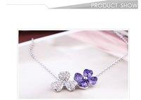 модный цветочный мода женщин элегантный ожерелье цветок colon ожерелье оптовая продажа новые продукты для