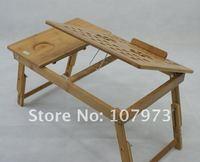оптовая продажа, складной бамбук ноутбук стол, бамбук ноутбук стол многофункциональный 800