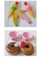 мать сад девушки детей в мальчика деревянная игрушка играть дома игра головоломка чай ребенок деревянные кухонные игрушки комплект
