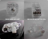 4000 шт./лот лазер палец, лёгкие из светодиодов лазер палец балки кольцо факел для ну вечеринку - лента силикон, мешок полипропилен