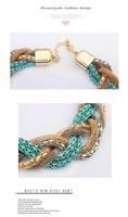 высокое качество горячая распродажа этнические себе ожерелье новый женская нательная цепочка ожерелье чешские конопли цветы коренастый чокеры ожерелья