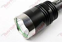 бесплатная доставка, trustfire для х8 Т6 из светодиодов тактический фонарь, 1000лм, 5 режимов, мощность по 2 х 18650. приходят с запасной линзы + выключатель
