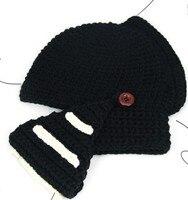 новинка новинка римского всадника ручной вязаная шапка зимняя шапка для мужчин