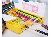 двусторонняя канцтовары коробка / коробки с точилка для карандашей