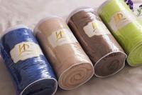 бесплатная доставка сплошной цвет супер-мягкие детское одеяло