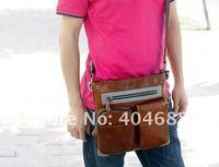 бесплатная доставка 100% из натуральной кожи сумка, бизнес сумки на ремне, А1