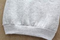 Почтовый индекс s43 новый 2015 большой размер письмо Taste кофты пуловер мультфильм котенок кошка животных печать свободного покроя свитер одежда аксессуары