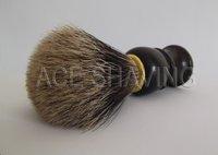точной чисто барсук волос помазок черный пластиковая ручка борода кисти