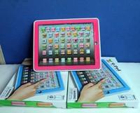 бесплатная доставка, г - английский обучающая машина, у площадку обучения игрушки для детей, розовый и голубой смешанная, музыка и свтеодиодный фонарик