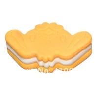 оптовая скидка еда печенье ластик ластик отдых хобби мини-ластик