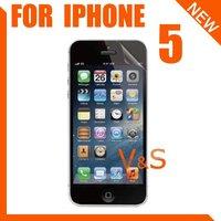 матирование экран протектор для для iPhone 5 5 г 5с с пакетом 10 шт. / много