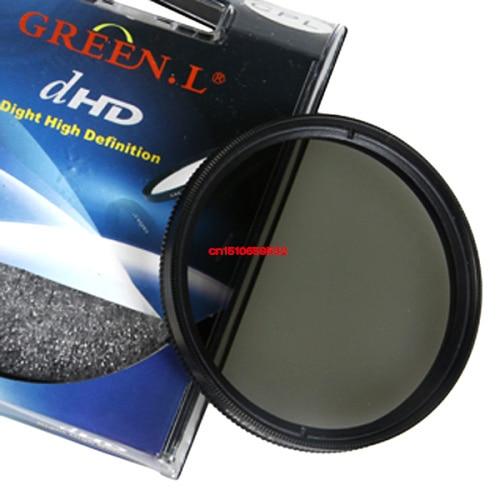 Acessórios de lente Verde 58mm 58mm CPL