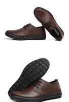 новый, кожа, плоские, квартира, вождения, свободного покроя туфли, дешевые, высокое качество, бесплатная доставка мужчины кожаные ботинки
