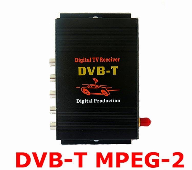 автомобильные тв тюнеры двб Т с MPEG2 мобильная цифровая ТВ-коробки внешний USB для DVB-т автомобиль тв-приемником