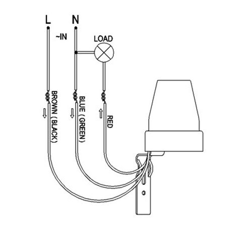 photocell sensor wiring diagram, Wiring diagram