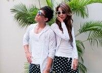 мужчины и женщины пляж шорты lublin красочная доска cart
