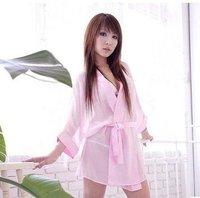 женщины в робы сексуальный пижамы женское бельё прозрачный платье a014