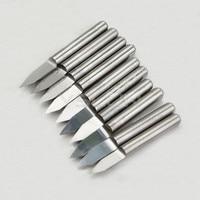 10 шт./лот 45 градусов 0.4 мм ножами чпу фреза карбида гравировки нож металлорежущий инструмент #070234