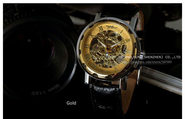 купить часы winner gold skeleton есть