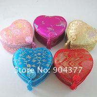 роскошные кисточкой кружева декоративный подарочная бонбоньерок ремесленных атласа на память для хранения чехол 10 шт./упак. сочетание цветов бесплатная доставка
