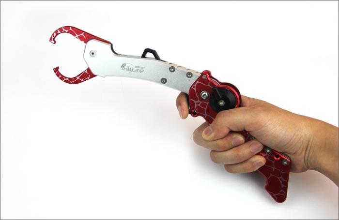 pano) ferramenta de pesca Peixe controlador, dobrável aperto de pesca