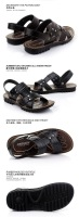 бесплатная доставка топ мода бренд мужчины платье Cage padova сандалии