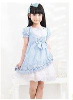 три цвет ядер стиль лето девочка принцесса платье большой долг дети платье для девочки платье больших pricing
