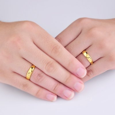 men couple rings plated tungsten gold women plain crownal engraved bands dome polished wedding dp