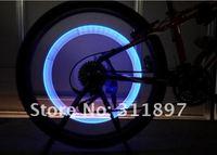 светлячки велосипед из светодиодов колесо свет велосипед автомобилей шин золотник кепка светящиеся палочки 10 шт./лот