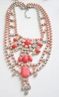 бесплатная доставка * мода акриловые коготь и цепочка ожерелье * мути подвески ожерелье